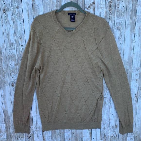 GAP Other - Gap Tan Merino Wool Sweater